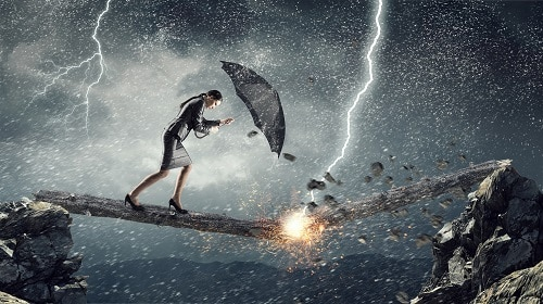 """After an adversity or challenging situation, we're often advised to """"give it some time, and you'll bounce back."""" But I'd like to challenge you. Rather than being satisfied with """"bouncing back,"""" learn to use your setbacks as opportunities to grow and make a difference in the lives of those around you"""