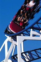 thrill seeking on the rollercoaster releases dopamine which those with ADHD want