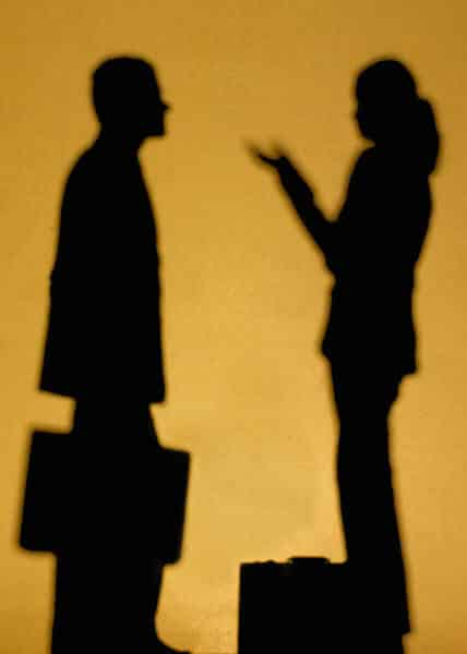 couple talking but true communication requires listening mostly