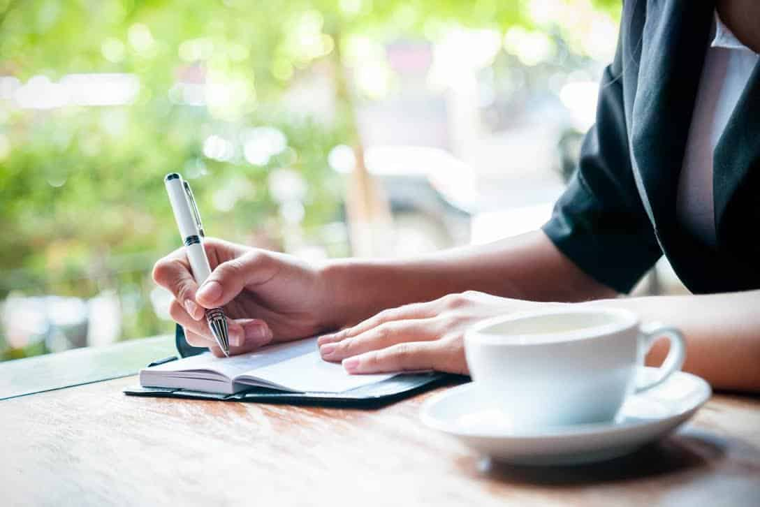 why entrepreneurs should keep a journal